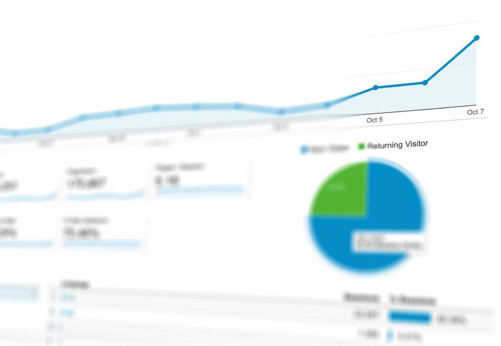 Analytics Positive Trend Graphic